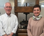 David Brock and Aude Gabory are book conservators in Conservation Services.