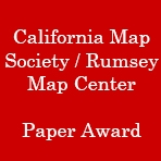 California Map Society / Rumsey Map Center Paper Award