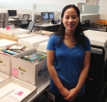 Charlotte Thai, Project Archivist for the Cabrinety Collection