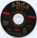 Image of Diablo install disk