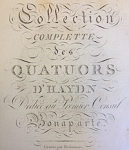 Title page of the Bonaparte Edition (detail)