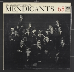Front cover image from the album Stanford Mendicants '65