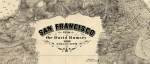 San Francisco from the David Rumsey Map Collection: SFO Airport Exhibit
