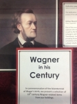 Wagner display in the Music Library