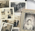 An assortment of photos from the Kojima family papers