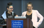 Kris Kasianovitz & Regina Roberts at the C+J Symposium 2015