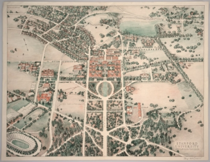 stanford university map collection