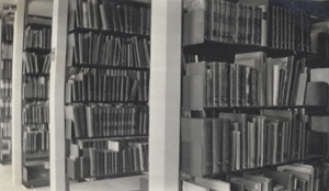 Library stacks, 1919