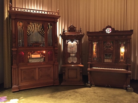 Orchestrions in the Music Room