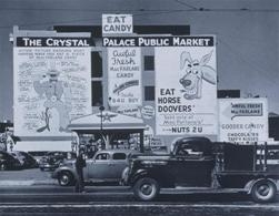 Pop Advertising, San Francisco (1939). ©John Gutmann
