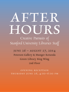 After Hours Exhibit Poster