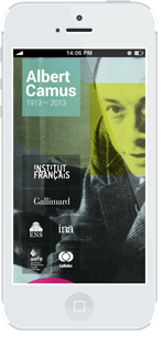 Albert Camus iphone app