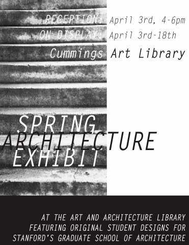 Spring Architecture Exhibit poster