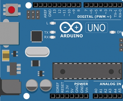 graphic of an arduino