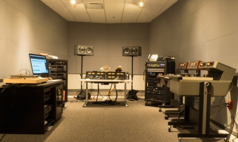 SMPL Audio Lab at 500 Broadway
