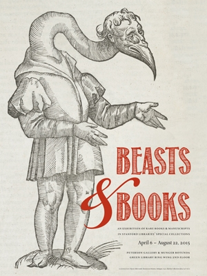 Poster illustration from Monstrorum Historia by Ulysse Aldrovandi, (Bologna: 1642). Stanford University Libraries Special Collections, Barchas Collection QH41.A4 F vol. 6
