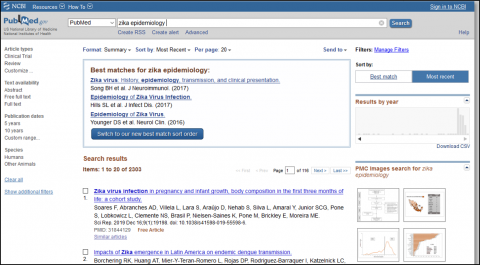 PubMed review articles