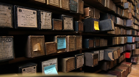 Player Piano Rolls at Stanford