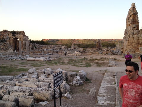 Pictures from Perge
