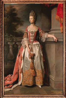 Charlotte Bertie, Countess of Abingdon, by Nathaniel Dance-Holland (1769)