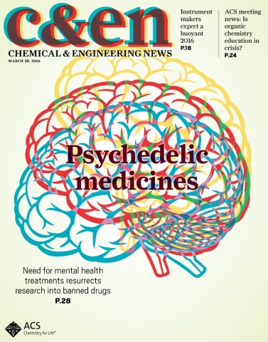 Chemical and Engineering News - March 29, 2016 cover