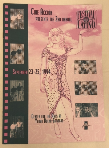 Cine Accion 1994 program