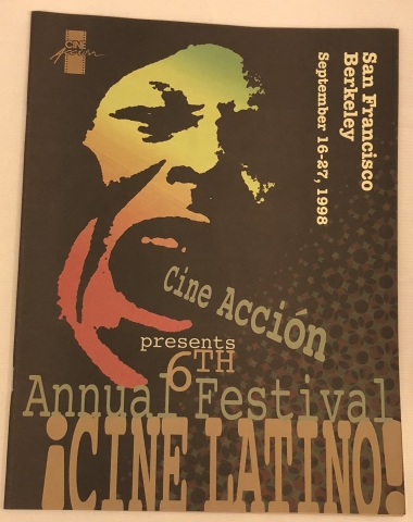 Cine Accion 1998 program