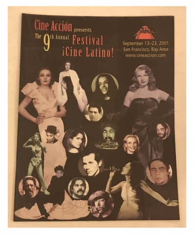 Cine Accion 2001 program