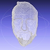 3D scan of the death mask of Leland Stanford Sr.