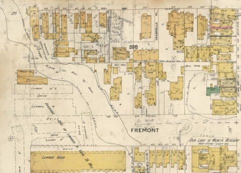 Thematic Maps Civil War Fire Insurance Stanford Libraries