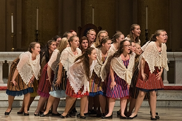 Estonian TV Girls' Choir perform at Memorial Church