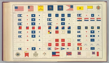 [Corps flags, badges, etc.]