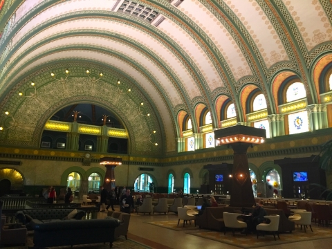 The Grand Hall of the Union Station Hotel