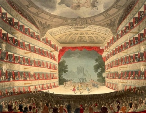 The second Haymarket Theatre (1791-1867)
