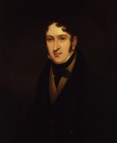 Sir Henry Rowley Bishop, attributed to Isaac Pocock. Oil on canvas, 1813