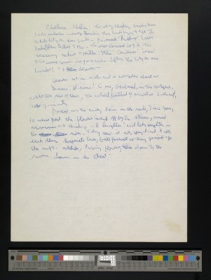 "Ginsberg's handwritten first draft of part two of ""Howl,"" page 2"