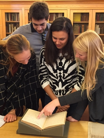 Students in Special Collections