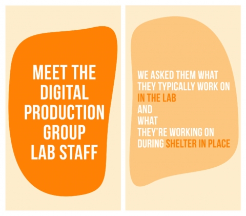 Meet the Digital Production Lab Staff