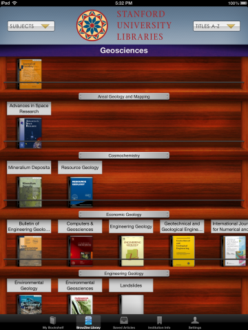 BrowZine' in the Field: Getting Journals on your iPad