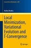 Local minimization, variational evolution