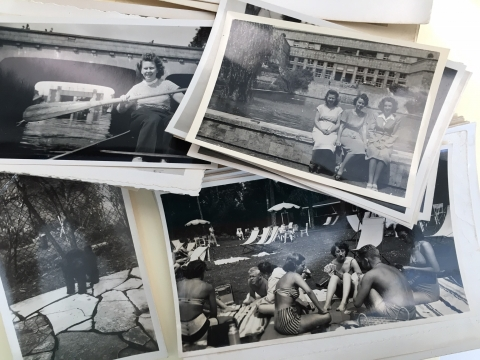 An assortment of photos from the Helen G. Sullivan papers