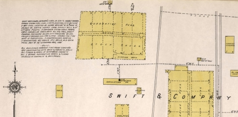 Moultrie, Ga., Sheet 24, Sanborn Map Company, 1920