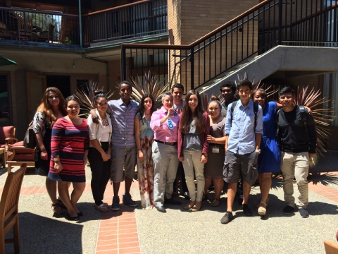 Stanford University Libraries' summer internship program farewell ceremony 2014