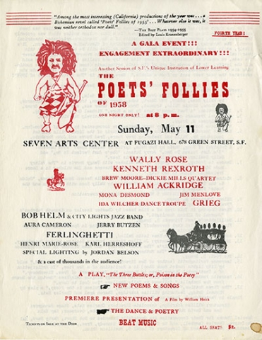 Poets' Follies flier