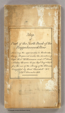 Part of the North Bank of the Rappahannock River … , C.A. Mallory, 1862