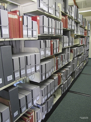 Miller Library_reprint collection gets new boxes