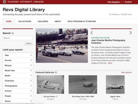 Revs Digital Library Site Home Page