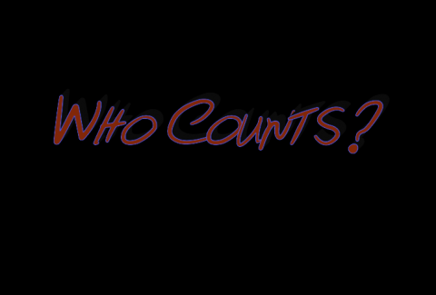"Title card from ""Stealing America: Vote by Vote,"" reading ""Who Counts?"""