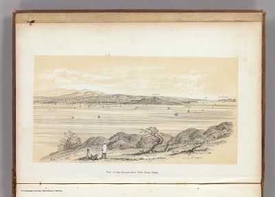 View, San Francisco from Yerba Buena Island, in A series of charts, with sailing directions, embracing surveys of the Farallones, entrance to the Bay of San Francisco ... , William H. Dougal, 1852