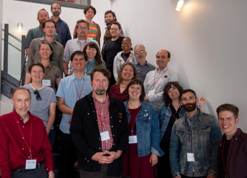 Attendees to the 2018 unconference hosted by SMPL